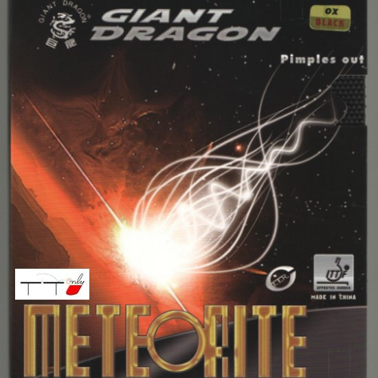 Giant Dragon Long Pips Meteorite OX