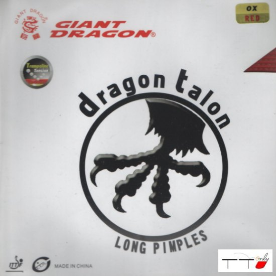 Giant Dragon Long Pips Dragon Talon OX