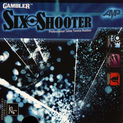 Gambler Rubber Six Shooter AMP
