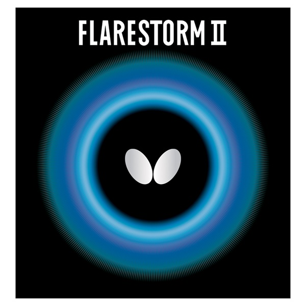 Butterfly Flairstorm II Pips Out Rubber