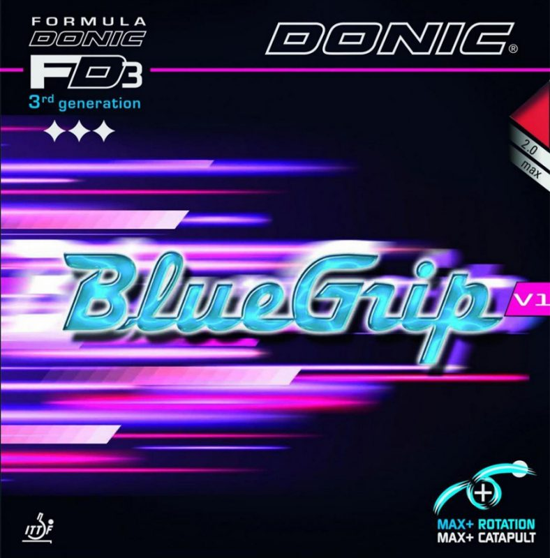 Donic Rubber Bluegrip V1