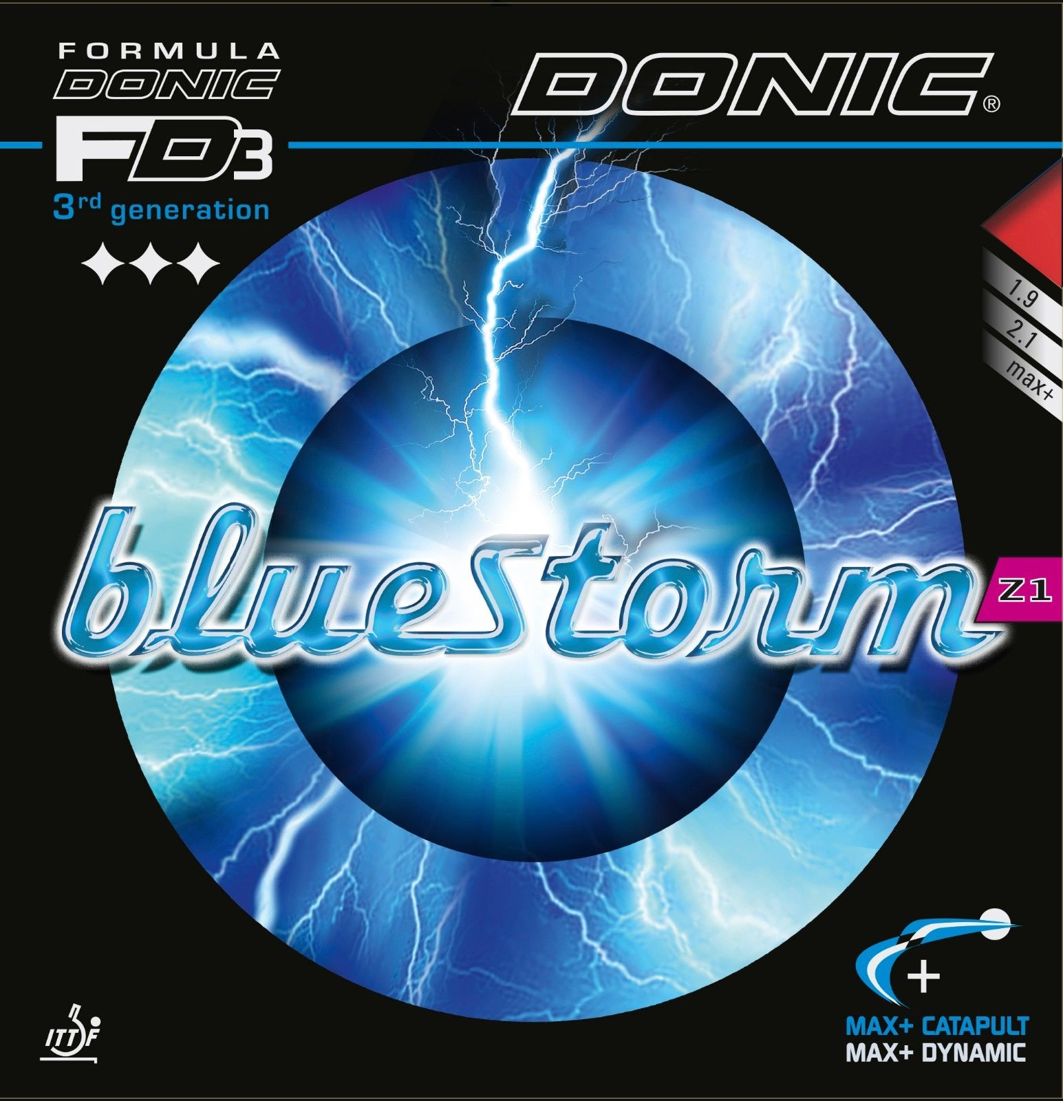 Donic Rubber Bluestorm Turbo Z1