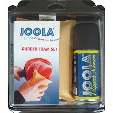 Joola Rubber Foam Cleaner and Sponge Set