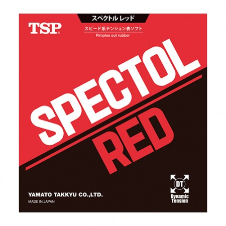 TSP Spectol RED Short Pips-out