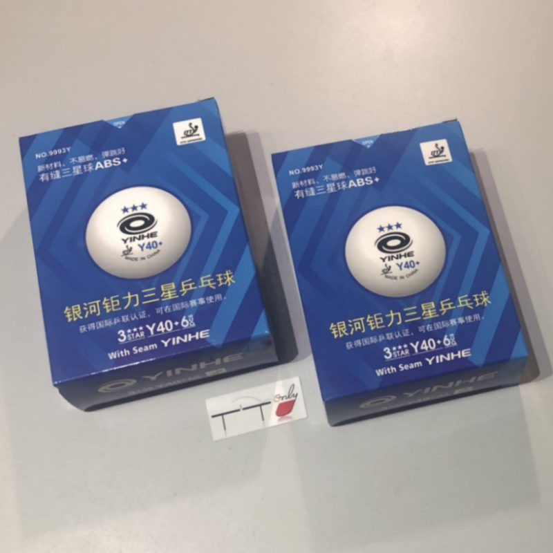 12 X Yinhe Blue 3 Star Y40+ ABS Balls